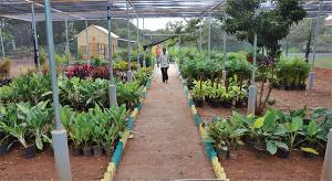 The centre will also sell gardening equipment, seeds, saplings and manure