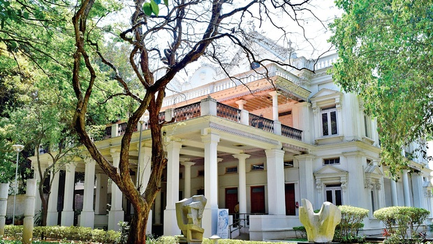 The old bungalow is marked by a British colonial architectural style, with a touch of Indian influence  Jithendra M