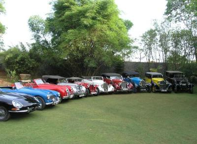 Car collector Dr Ravi Prakash promises to pull the wraps off over 900 classic beauties