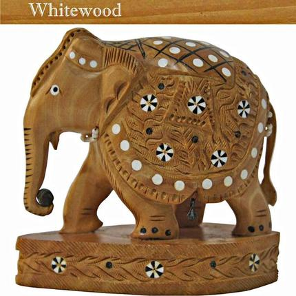 Whitewood carving