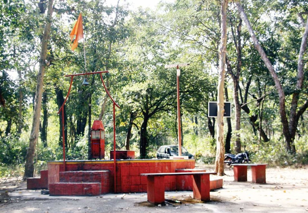 The temple is built on the spot where Ravalkatta Baba used to rest | tushar a majukar