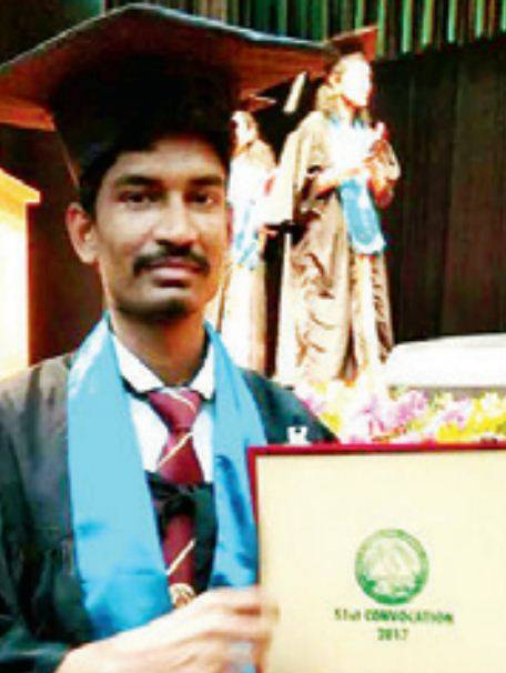 Gold medallist Raghuveer M wants to take up research