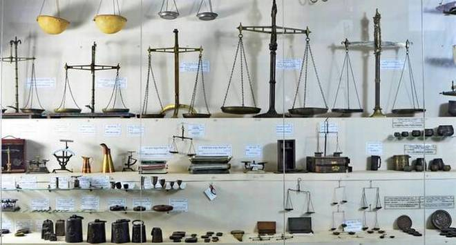 A measure of history: The museum in Davangere has 3,000 varieties of weighing scales and measures.