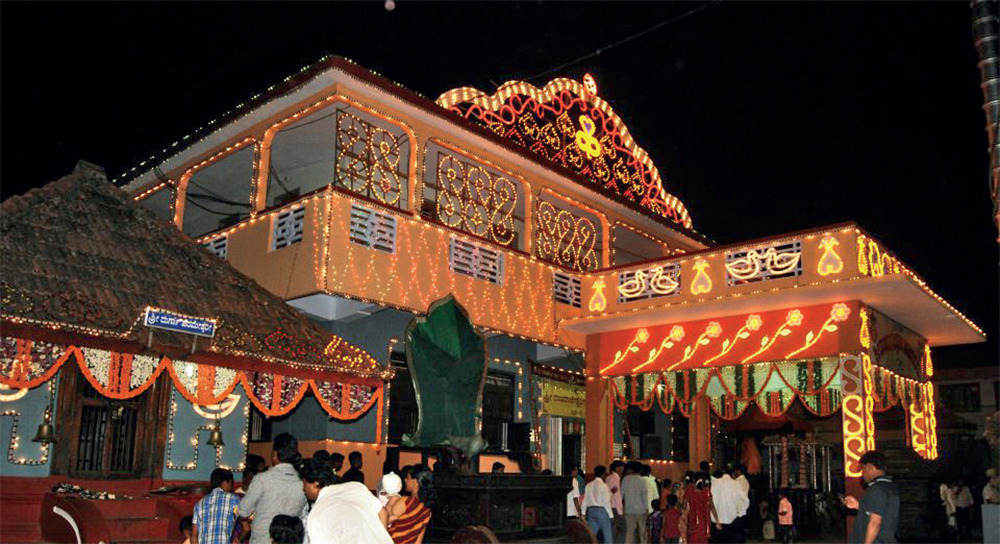Rajarajeshwari Temple at Potali