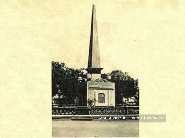 The cenotaph was demolished with official sanction on Oct 28, 1964.