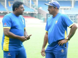 MEN IN CHARGE: Karnataka team's head coach PV Shashikanth (right) and assistant coach G K Anil Kumar, who have replaced J Arun Kumar and Mansoor Ali Khan respectively, will have big shoes to fill. DH PHOTO/ Srikanta Sharma R