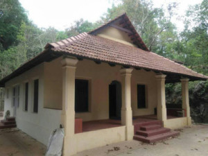 The renovated house of late Shivarama Karanth at Balavana in Puttur.