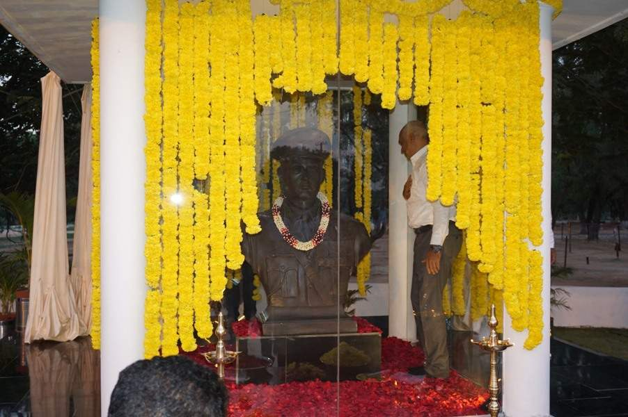 A memorial for Colonel Girdhari Singh, AVSM, was inaugurated at the ASC Centre and College in the city on Saturday. (Express Photo Service)
