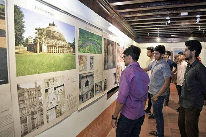 Slice of history: The exhibition will be on till December 17 at Kodial Guthu West in Mangaluru.