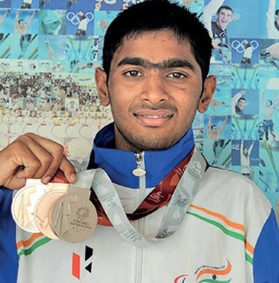 After bagging three medals at the recently concluded Asian Youth Para Games in Dubai, swimmer Shridhar Malagi of Belagavi wants to qualify for the Tokyo Paralympics in 2020