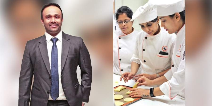 Bangalore-based 'Whitecaps International School of Pastry' was not just a startup but also what Vedkiran needed to equip his own business along with the entire food industry.
