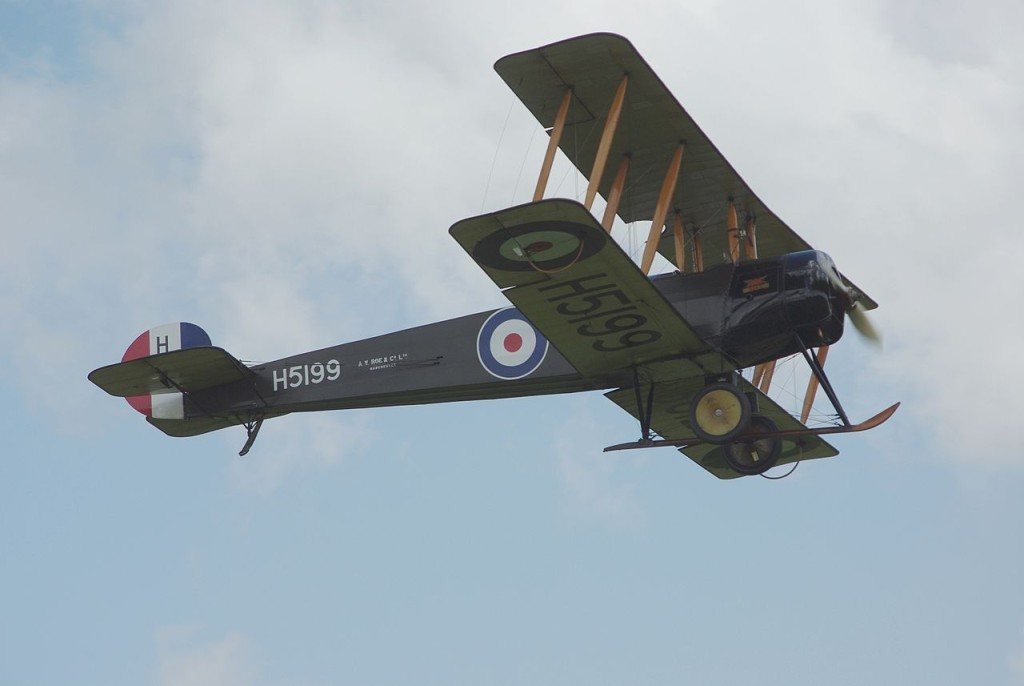 An Avro 504. Credit: TSRL/Wikimedia Commons, CC BY-SA 3.0