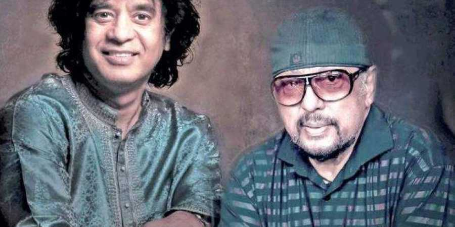 Ustad Zakkir Hussain and Louiz Banks